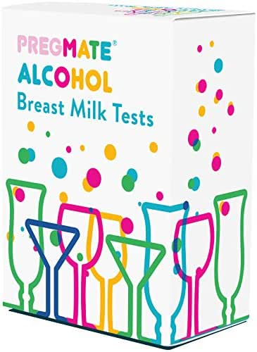 PREGMATE 20 Alcohol Breast Milk Tests Breastfeeding Breastmilk Strips (20 Pack)