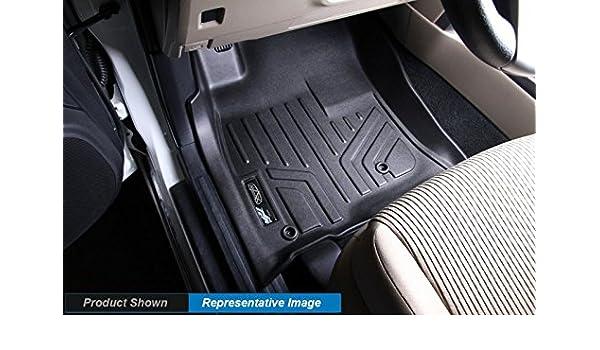 MAXLINER A0137 Floor Mats for Honda Civic Sedan Black 2012-2015 1st Row