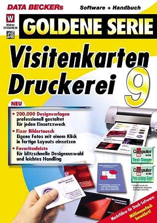 Visitenkarten Druckerei 9