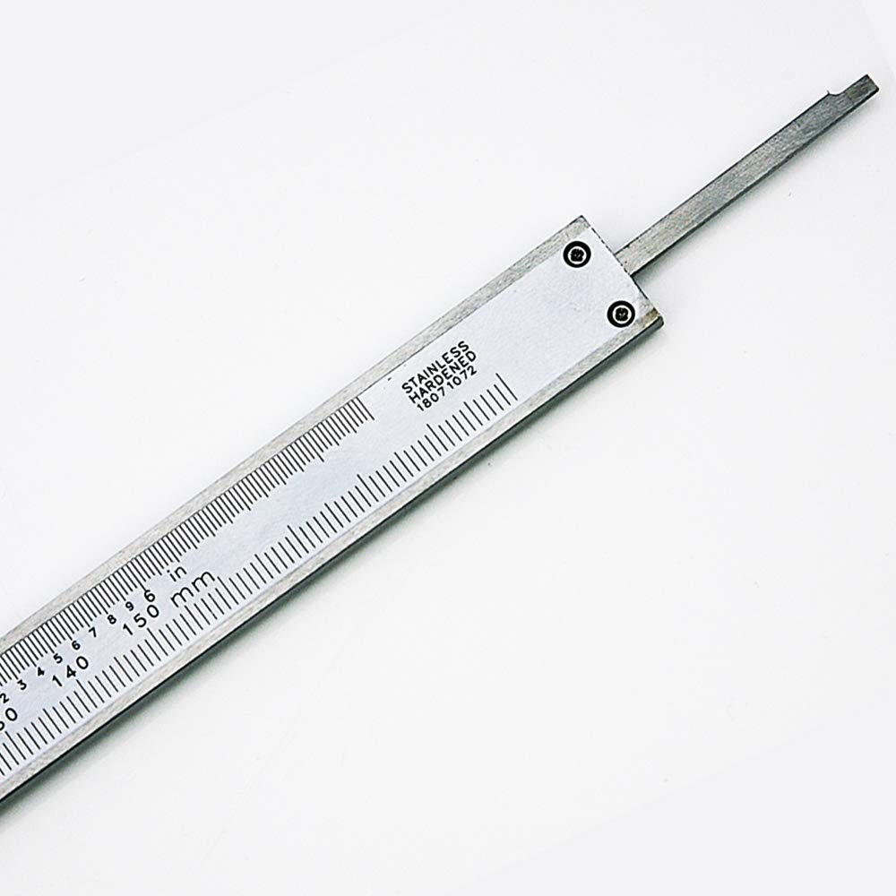 NORTOOLS Professional Vernier Caliper Stainless Steel for Inside Depth and Step Measurements,6 Inch//150mm//0.001//0.02mm-Strictly QC pc by pc 6 Inch//150mm//0.001//0.02mm-Strictly QC pc by pc Nortools International Ltd Outside