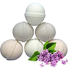 BATH BOMB BATH FIZZY lush 6 PACK FLOWER LILAC-ROSE-LILY OF THE VALLEY