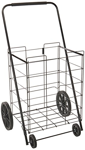 (The Faucet Queens Jumbo Folding Cart | Black (16719))