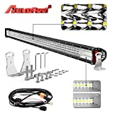 "Automotive : LED Light bar, AutoFeel 44"" 1080W 8D Quad Row Spot Flood Combo Beam Lightbar Off Road Auto Work LED Light Bar with Slide Mounting Brackets for Truck Jeep ATV UTV"