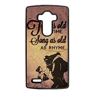 LG G4 Phone Case Black Disneys Beauty and the Beast ES3TY7881064