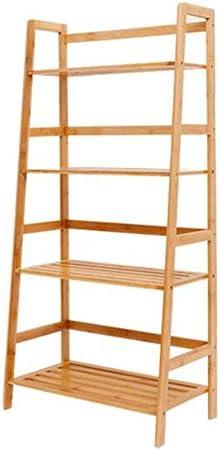Jcnfa-Estante Estante para Libros Estante De La Escalera Marco De Pared Mostrador Estantes Ajustables Organizador De Archivos En Rack, para Sala De Estar: Amazon.es: Hogar