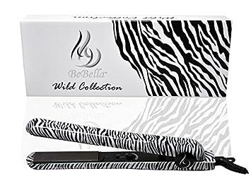Bebella Luxury Wild Collection Professional 1.25\u0026quot; Pure Onyx Ceramic Plates Hair Straightener Flat Iron  sc 1 st  Amazon.com & Amazon.com : Bebella Luxury Wild Collection: Professional 1.25\