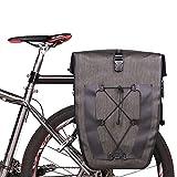 Cherlvy 27L Mountain City Highway MTB Bicycle Bicycle Outdoor Sports Waterproof Rear Seat Bag Mountain Bike Satchel Waterproof Shelf Bag