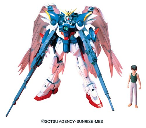 "Bandai Hobby EW-02 1/100 High Grade ""Endless Waltz"" Wing Gundam Zero Custom Model Kit"