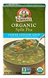 vegan split pea soup - Dr. McDougall's Right Foods Organic Lower Sodium Split Pea Soup, 17.6 Ounce (Pack of 6)