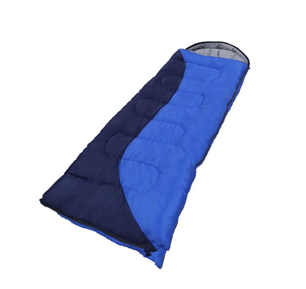 Bolsa de dormir camping/al aire Azul libre/gruesa/caliente , Azul aire + zhang qing , (190+30) 75 ac88b2