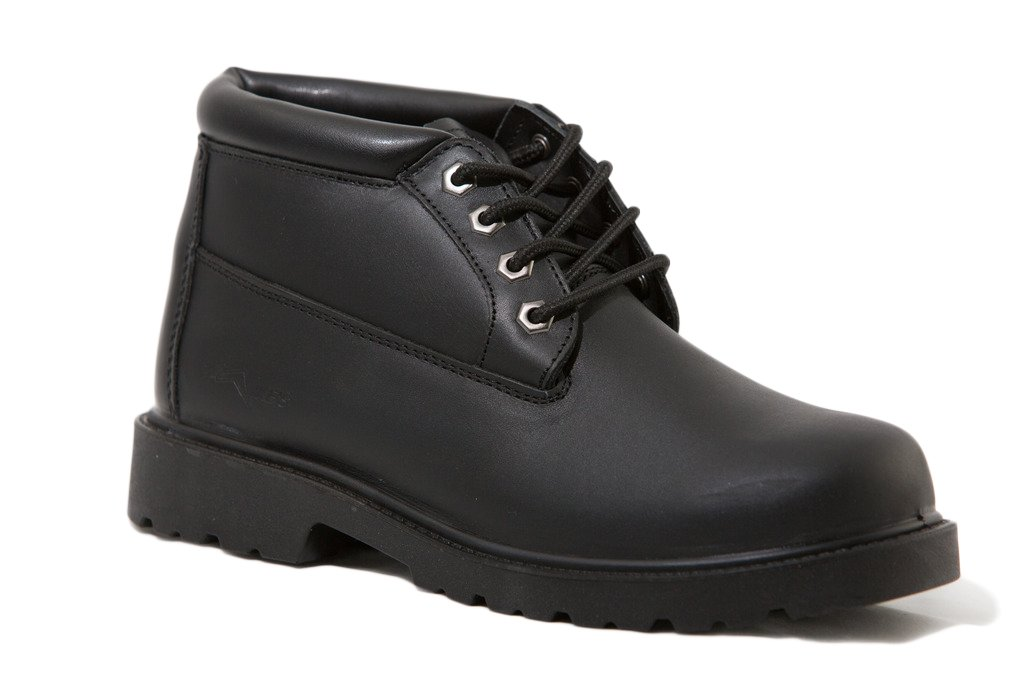 Mike's Black Padded Collar Chukka Boots – Size 9