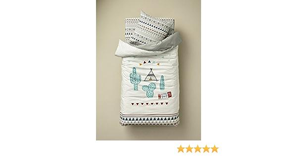 Vertbaudet Juego de 2 fundas de protecci/ón universales para colch/ón de silla de beb/é blanco Lot blanc gris Talla:talla /única