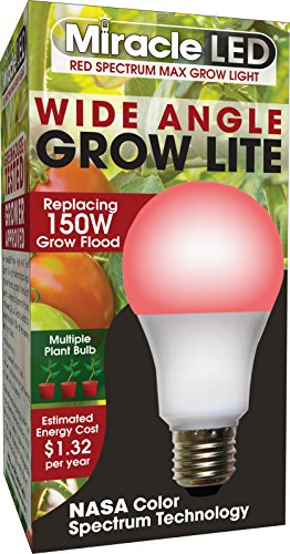 MiracleLED 604596 Multi-Plant Grow Light, 1 Pack, Red 150W