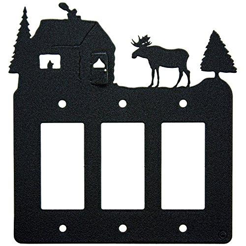moose cabin triple 3 gang