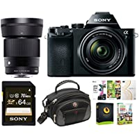 Sony a7K Full-Frame Mirrorless Camera w/ 28-70mm and 30mm f/1.4 Lens Bundle