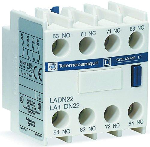 (SCHNEIDER ELECTRIC / TELEMECANIQUE LADN40 CONTACT BLOCK, 4NO)