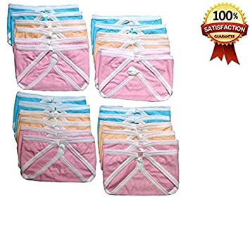 Chinmay Kids Nappies Washable Soft Cotton Printed Multicolor Langot