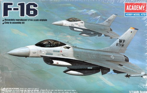 Fighting Falcon Aircraft Kit - Academy F-16 Fighting Falcon