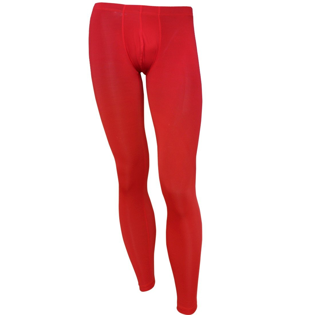62a1074f173 iiniim Mens Smooth Low Rise Bulge Pouch Trousers Thermal Underwear Tights  Fitness Sleepwear  Amazon.co.uk  Clothing