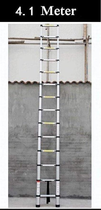 LADDER una Escalera Escalera de Dos Heces Taburete de Bar Escalera Pequeña Mini Tramo Aluminio Bilateral Escalera Escaleras de Incendios T: Amazon.es: Bricolaje y herramientas