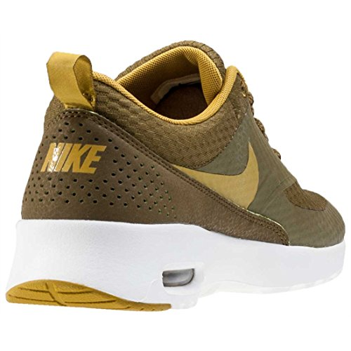 Olive Max Thea Air Womens Nike Synthetic Trainers TXT qx4O681