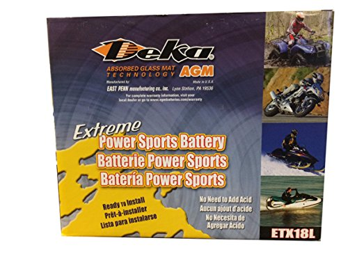 Deka Sports Power ETX18L Battery by Deka (Image #2)