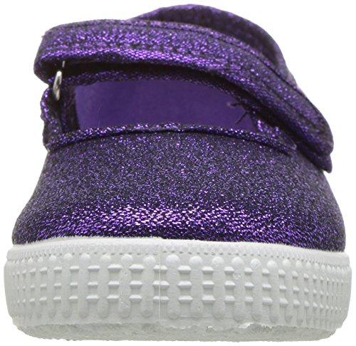 Cienta 56013 Glitter Mary Jane Fashion Sneaker,Purple,27 EU (9.5 M US Toddler) by Cienta (Image #4)
