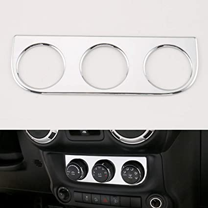 ABS Interior Car Window Control Switch Panel Cover Trim For 18 Jeep Wrangler JL