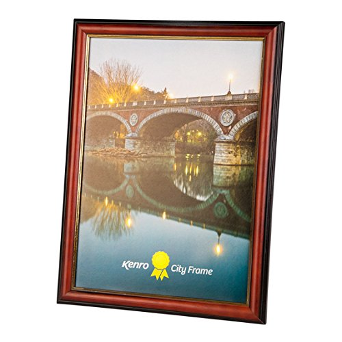 Kenro City A4 Photo Frame Brown [CTY2130]