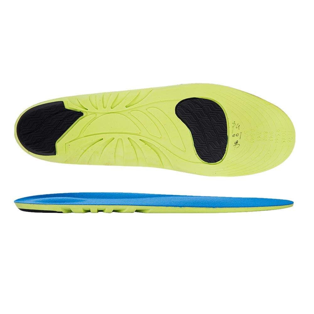 Karlscrown Comfort Sports Shoe Insoles Orthotic Insoles Full Length Plantar Fasciitis Inserts