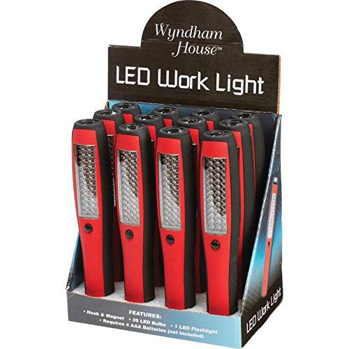 Wyndham ELLED40 Wyndham House 12 Piece LED Lights In Countertop Display