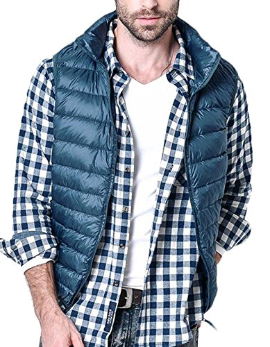 Giacca Giubbotto Maniche Stati M Packable Pesce Collare Eku Palla Maschile Uniti Blu Stand qStwEHx