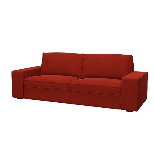 Soferia - IKEA KIVIK Funda para sofá de 3 plazas, Elegance ...