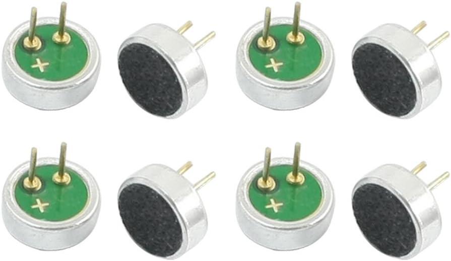 Sourcingmap/® 10 pcs 6mm x 5mm /à Travers Le Trou entra/înement du condenseur Mini Micro /électret