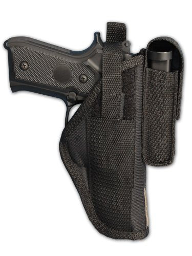 Barsony Gun OWB Belt Holster with Magazine Pouch for Taurus 24/7 9mm 40 45 Right