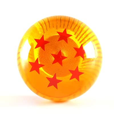 Universal 7 Stars Dragon Ball Z Gear Shift Knob 4 5 6 Speed Dragon Ball Z Gear Shift Knob Round Fit for Toyota Honda Infiniti Lexus Mazda Mitsubishi Mustang Nissan Scion Subaru Acura Jetta: Automotive