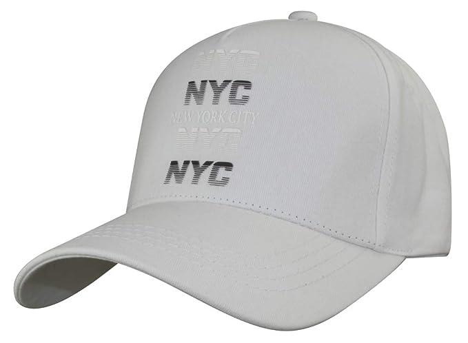 MINAKOLIFE Hombre Mujer NYC impresión Gorra de Beisbol Ciudad de ...