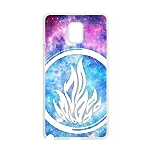 DAZHAHUI The Blue Fire Cell Phone Case for Samsung Galaxy Note4