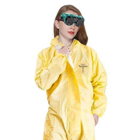 GAIXIA Ropa de protección química, Overoles de Aislamiento ...