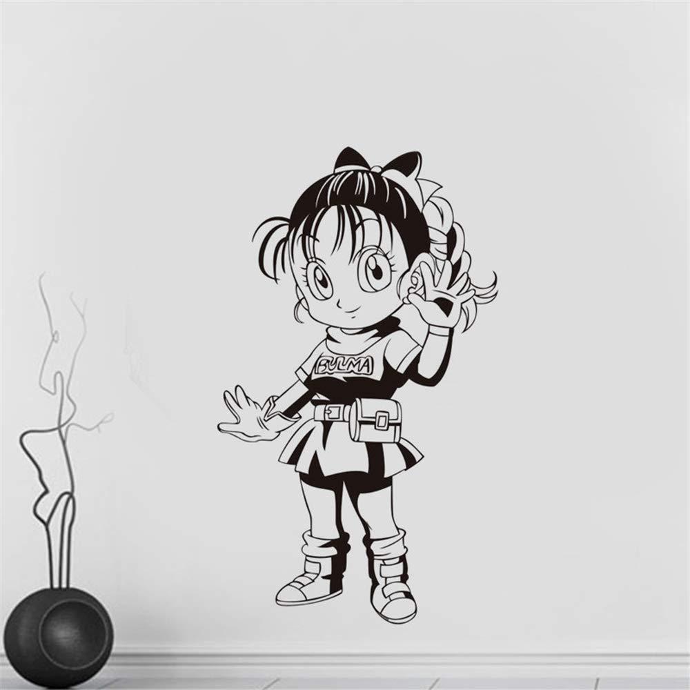 Dragon Ball Tatuajes de pared de dibujos animados Dragon Ball Girl ...