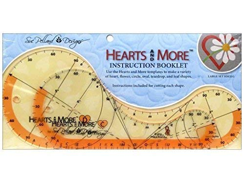 (Sue Pelland Designs Hearts and More Template Set )