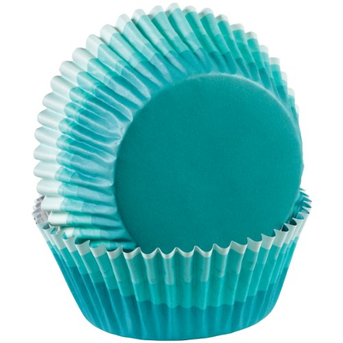 Wilton ColorCup Standard Baking Cups, Blue Ombre, 36-Pack (W415CC-0631)]()
