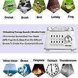 LIYO Portable White Noise Wireless Bluetooth Control Sleep Sound Sound Therapy Machine Home Sleep Well Noise Therapy Machine Female Natural Sleep Regulator