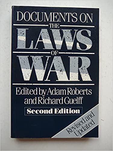 DOCUMENTS ON THE LAWS OF WAR PDF DOWNLOAD