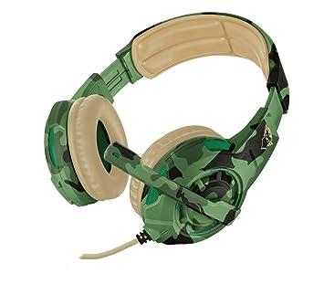 Trust GXT 310C Radius - Auriculares Gaming Multi-Plataforma, Color Camuflaje Jungla