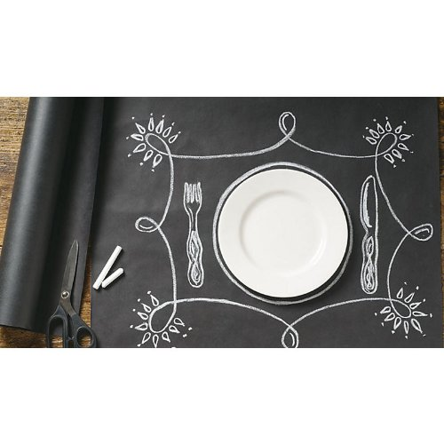 Kitchen Papers Paper Chalkboard Table Runner KP414-25 , 25