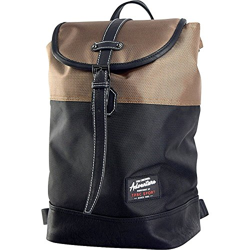 "Travelers Club Luggage TPRC Sport 14"" Backpack (Brown) from Traveler's Club"