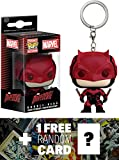 Daredevil: Pocket POP! x Daredevil Mini-Figure Keychain + 1 FREE Official Marvel Trading Card Bundle [75774]