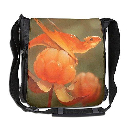 Men Women Classic Mulberry Dinosaur Messenger Bag Stylish Crossbody Bag Shoulder Bag College Bag For Outdoor Workout ()
