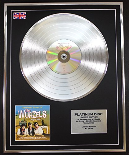 The Wurzels Ltd Edition Cd Platinum Disc The Finest Arvest Of